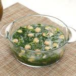 Canh ngao rau cải xanh