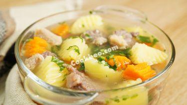 Cách nấu canh khoai tây thịt bò ngon bất bại