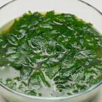 cách nấu canh rau ngót chay
