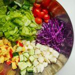 cách làm salad rau củ