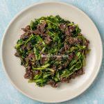 cách làm thịt bò xào rau cần
