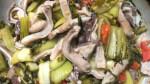 Bao tử heo xào cải chua