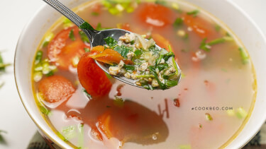 Canh hến nấu chua